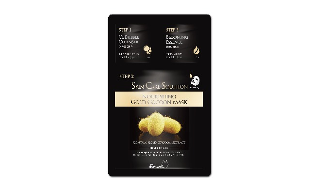 Skinapple Nousrishing gold cocoon mask pack(3step)