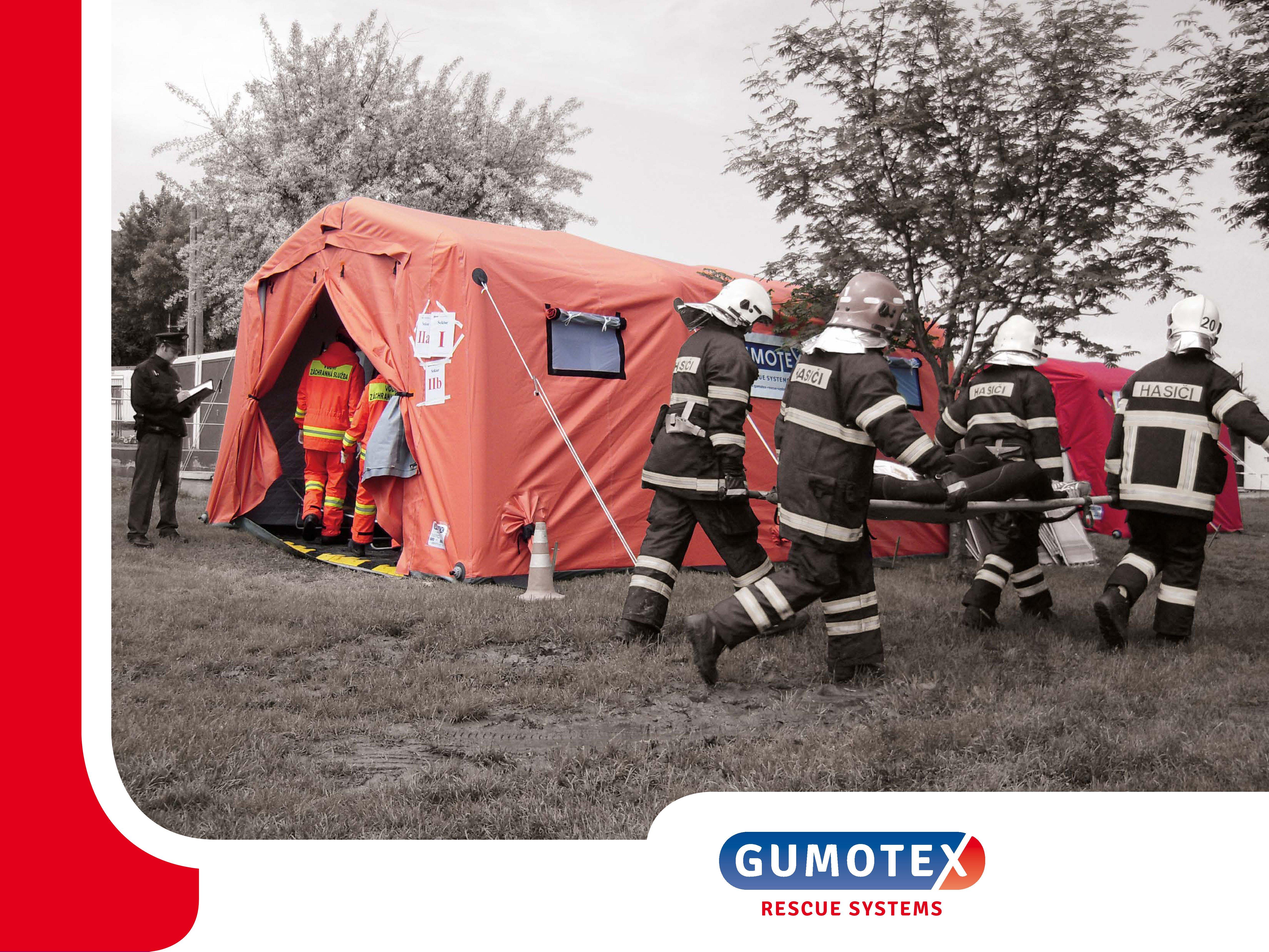 Výrobky kolekce GUMOTEX RESCUE SYSTEMS poskytují sofistikované, originální a komplexní řešení vybave...