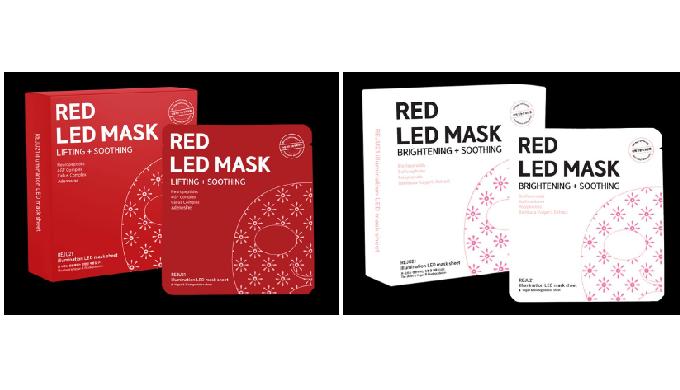 Red LED mask