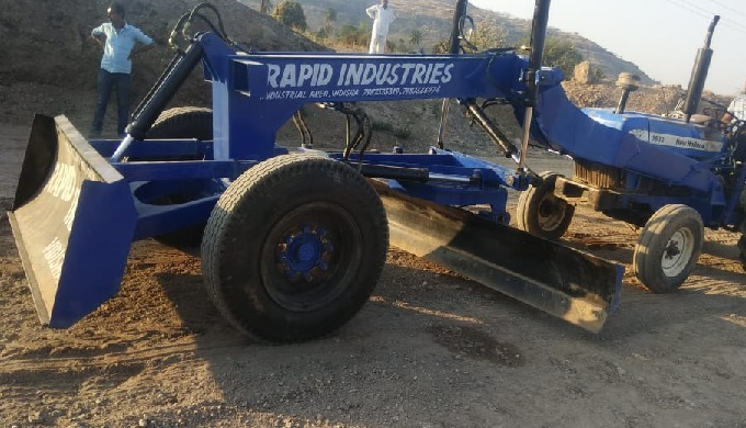 Call us on +91-7987366974 for more Informations. If you are looking for a Grader attachment then you...