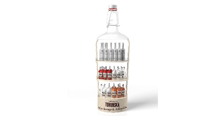 Torun vodka jalusta