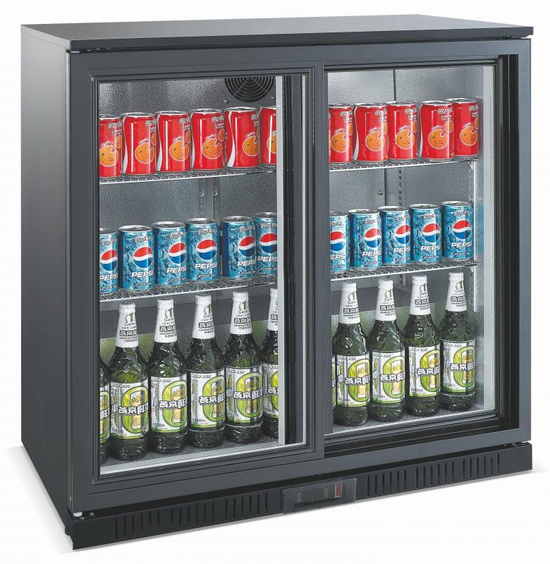 Vitrină frigorifică bar cu două uși glisante | LG-208S