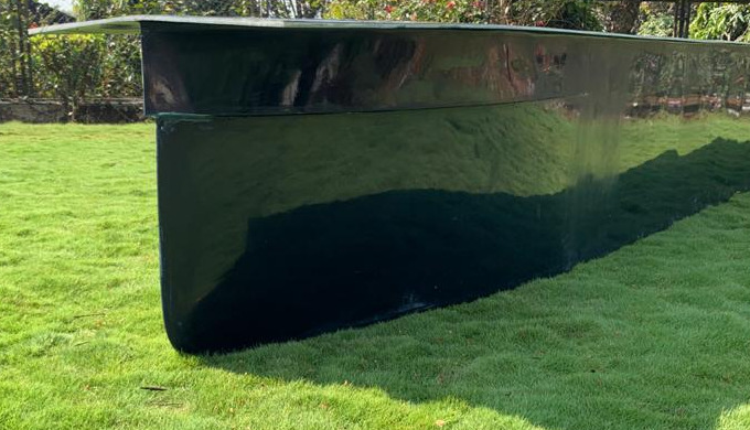 Quality made GRP pontoons to be used in Ponds, lakes and rivers. Fiberglass pontoon hulls are strong...