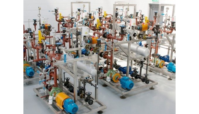 Temperature control systems can be supplied from small to large scale units depending on process app...