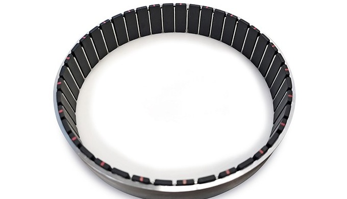 Rotors with permanent magnets