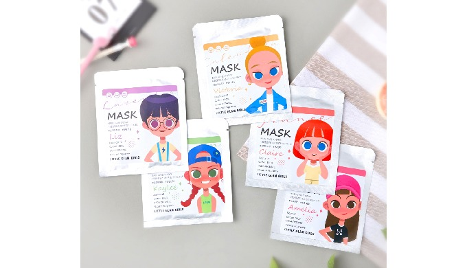 Mask Sheet_LITTLE GLAM GIRLS ESSENTIAL MASK SHEET