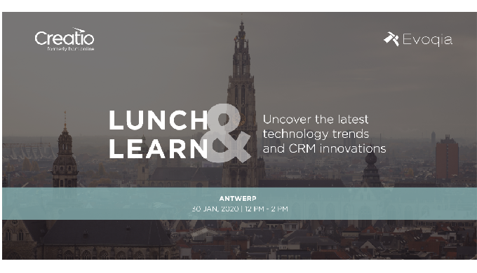 Lunch & Learn event Antwerp