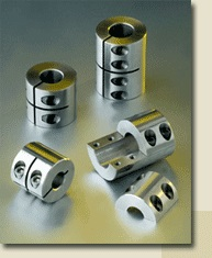 Factory standard Rigid shaft couplings WSK; type A, Inner diameter 5 - 25 mm and with the factory standard Rigid shaft couplings plusWSK
