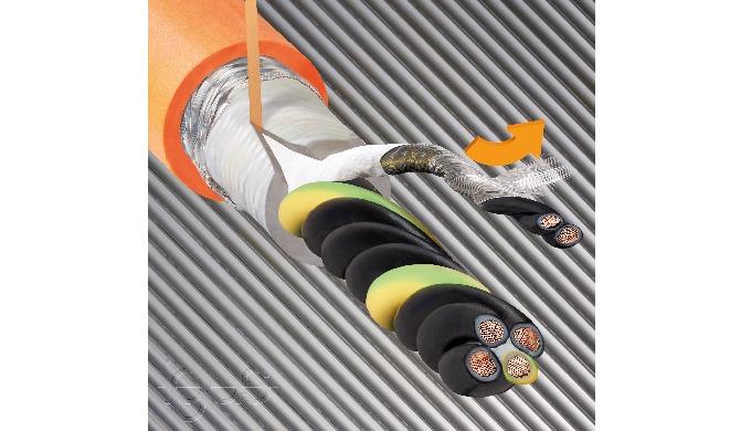 30 Prozent Installationszeit gespart dank neuer igus Paarschirmaufbauten in chainflex Servoleitungen...