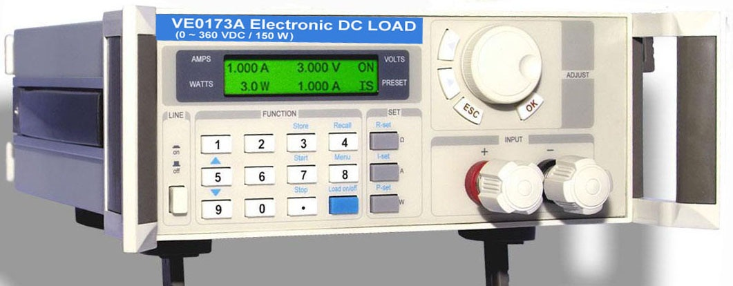 Programmable Electronic DC Load