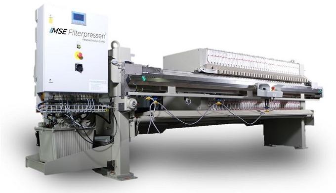 Semi-automatische Filterpresse