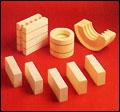 JM-tegel och Kaowooltegel av högsta kvalitet. Gjutmassor, stampmassor eller fibermassor. Har även mu...