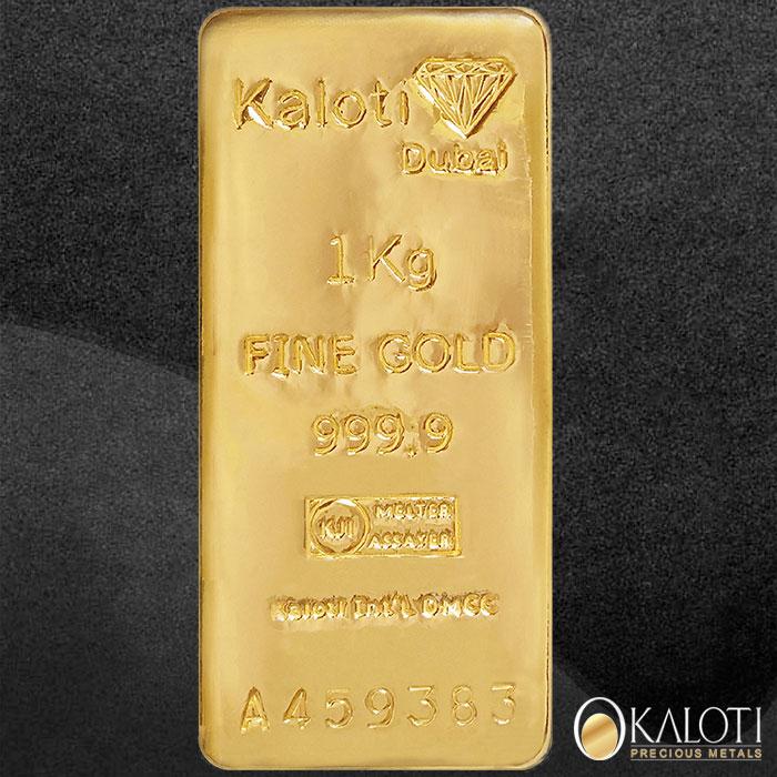 Kaloti 1kg Gold Bars By Kaloti Jewellery International Singapore Pte Ltd