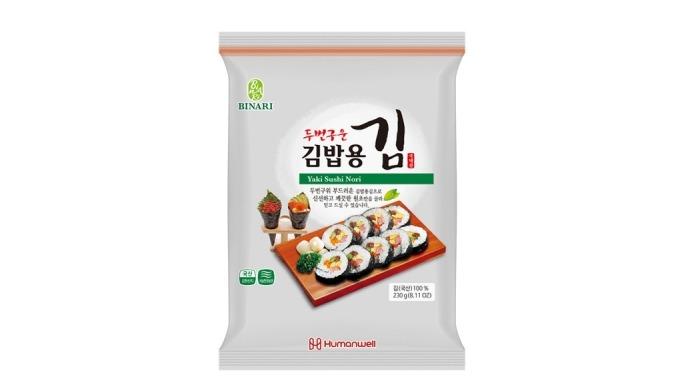 HongKi wellbeing seasoned laver