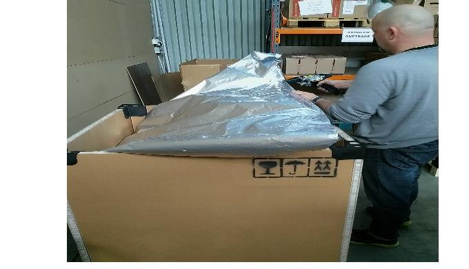 Intelligente Lösungen und Verpackungen nach Mass zum Schutz Ihrer Güter während Transport und Lageru...