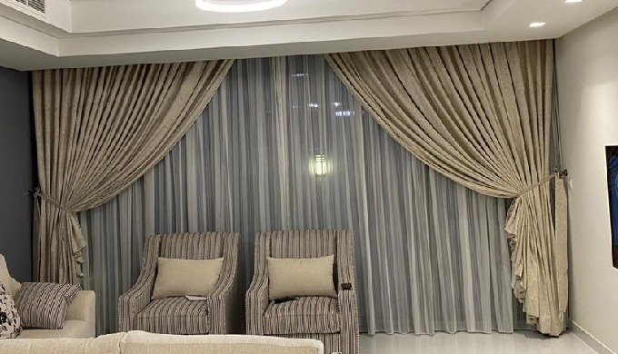 We are stitching all kind of curtains with shafoon & blackout. We can come at your door to provide y...