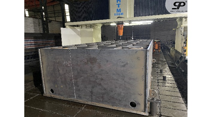 OEM heavy duty Hydraulic box of clamping machine 1. steel plate: thickness is not limited -- no matt...