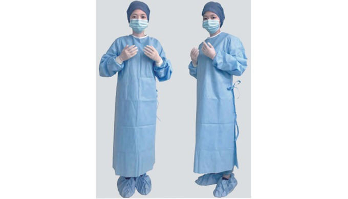FDA 510K & TUV Surgical Gown Based on AAMI PB70:2012