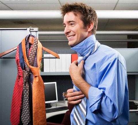 Bedruckte Seiden Krawatten