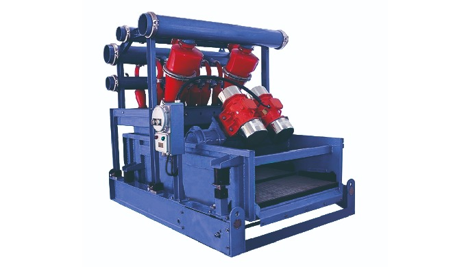 Mud cleaner is a combination of desander, desilter and shale shaker. It is the second and third phas...