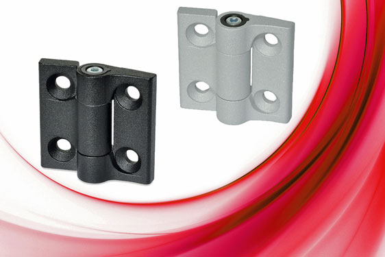 The Elesa CMUF 270° hinge supports flaps, panels, hatches and doors in a desired position against th...