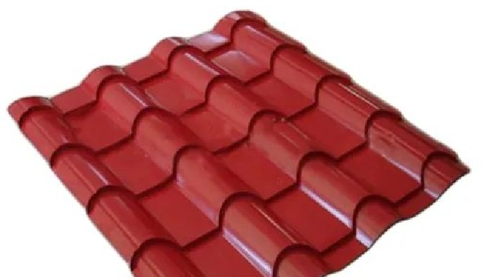 Product Parameters: Product Name 828 Glazed Tile Plate Wall Panel Corrugated Steel Roofing Sheets Pr...
