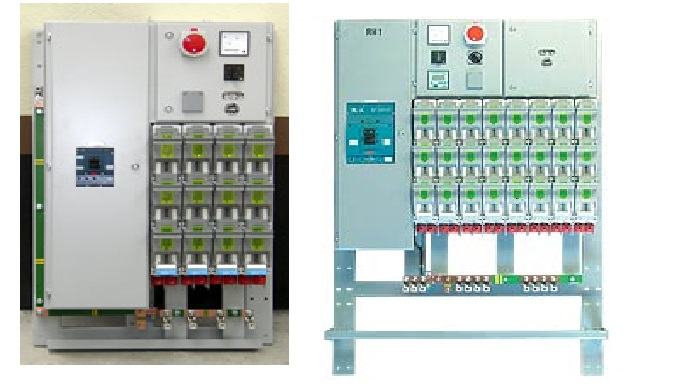 Distribution switchgear for power substation