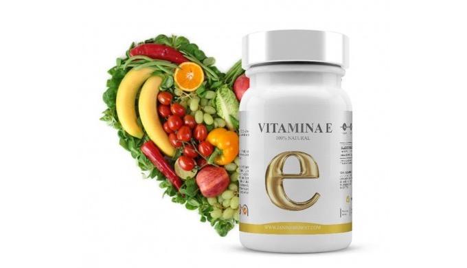 Vitamina E es un complemento alimenticio 100% natural en cuyo desglose nutricional destaca de manera...