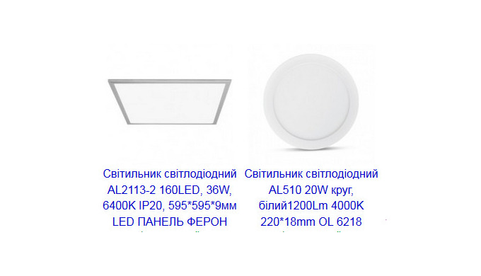 Вбудовані LED-світильники: основні характеристики та переваги