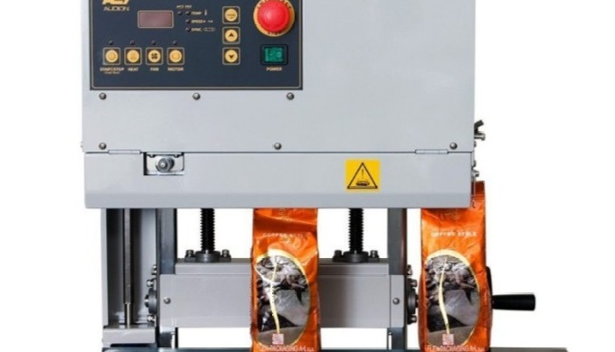 The Audion D555 NVT is a table top vertical band sealer. Its perfect for sealing pouches and bags wh...