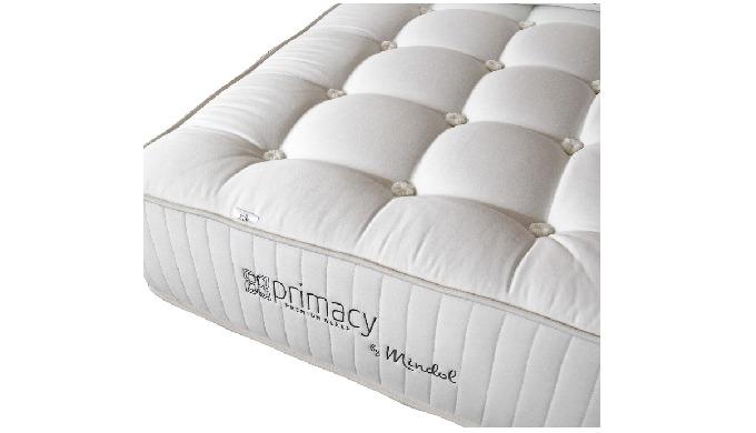Gama de colchões que incorporam materiais naturais nobres, como a crina de cavalo, o algodão, a lã o...