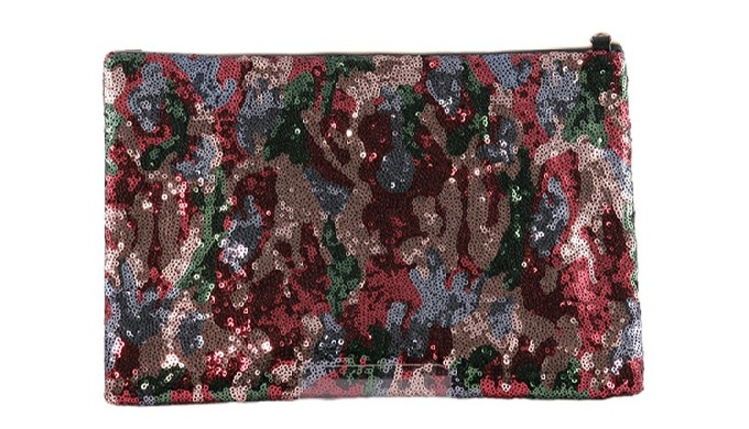 SPANGLE CLUTCH BAG (big, medium, small)
