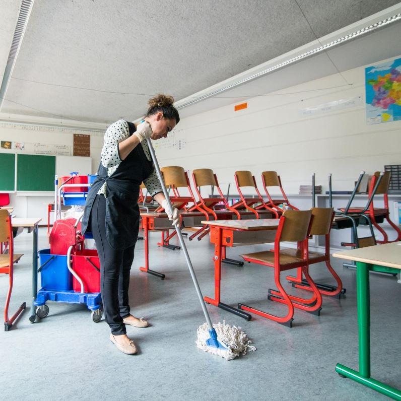 Nettoyage écoles & lycées SERNET
