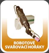 Robotové svařovací hořáky