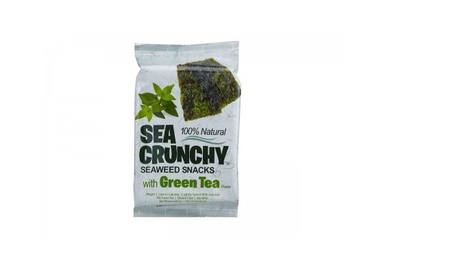 Seacrunchy Green Tea l alimento naturale e di sicurezza