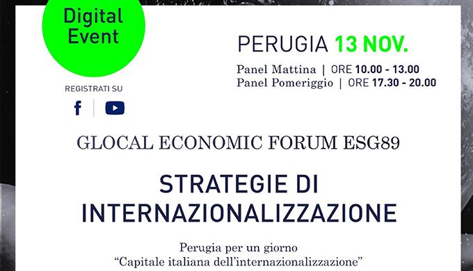 Perugia per un giorno 'Capitale italiana dell'internazionalizzazione'