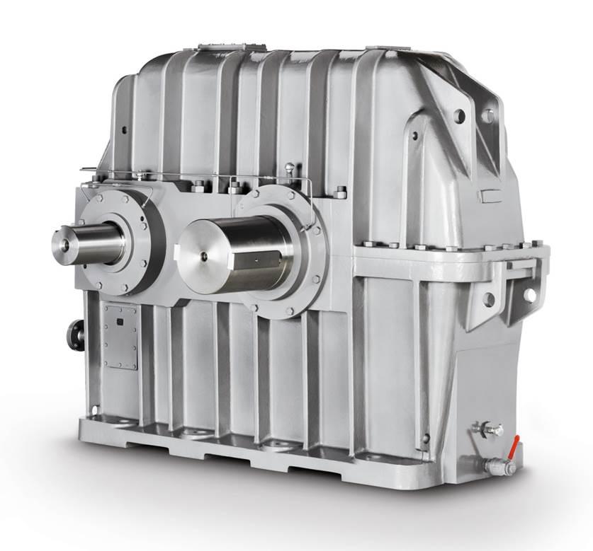 Flachgetriebe / für die Zimentindustrie / isches Selbsteinstellendes