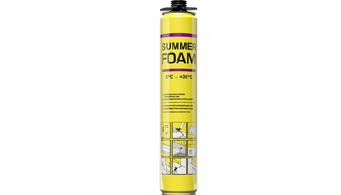 SUMMER FOAM 0°C - +30°C / FOAM ADHESIVE FOR FIXING INSULATION BOARDS