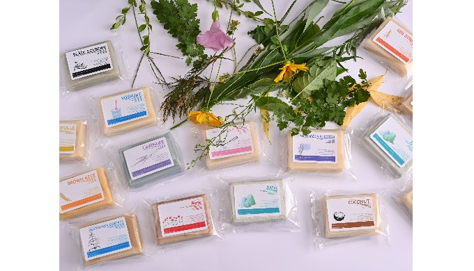 Functional natural soap series
