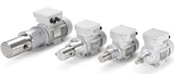 Scherzinger magnetdrivna kugghjulspumpar med kapacitetsområden från 20 cm3/min till 60 l/min används...