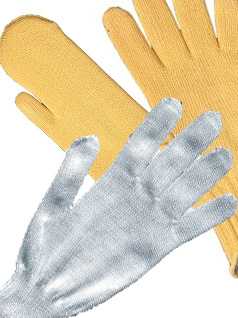 KNITTED PROTECTIVE WORKING GLOVES