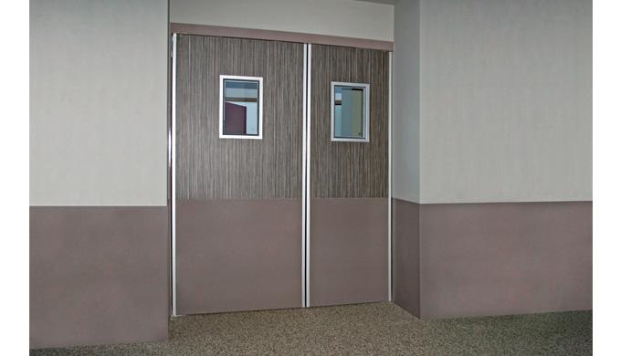 1 vantail ou 2 vantaux à pivots linteau Groom GRL 100 1 vantail ou 2 vantaux GRL 100 avec asservisse...