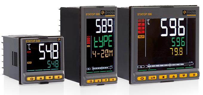 Les régulateurs PID STATOP série 500 forment une famille de produits conçus pour réguler la températ...