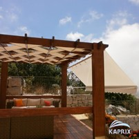 Pergolas are structures that protect external sitting areas, pavements, and terraces from the elemen...