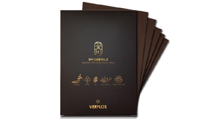 VERFLOS Ggotbee Ginseng Honey Mask_Ginseng Honey Mask Pack