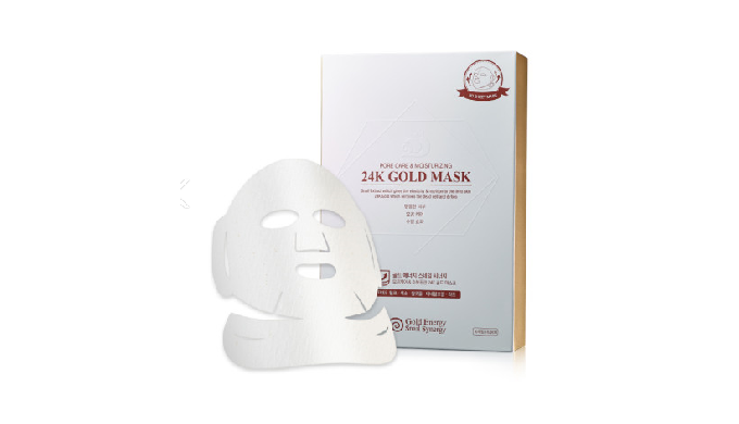 24K Gold Mask : Face Nutrition / Pore careㅣCosmetic facial mask