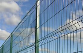 Gard metalic, eurogard, panou gard bordurat.