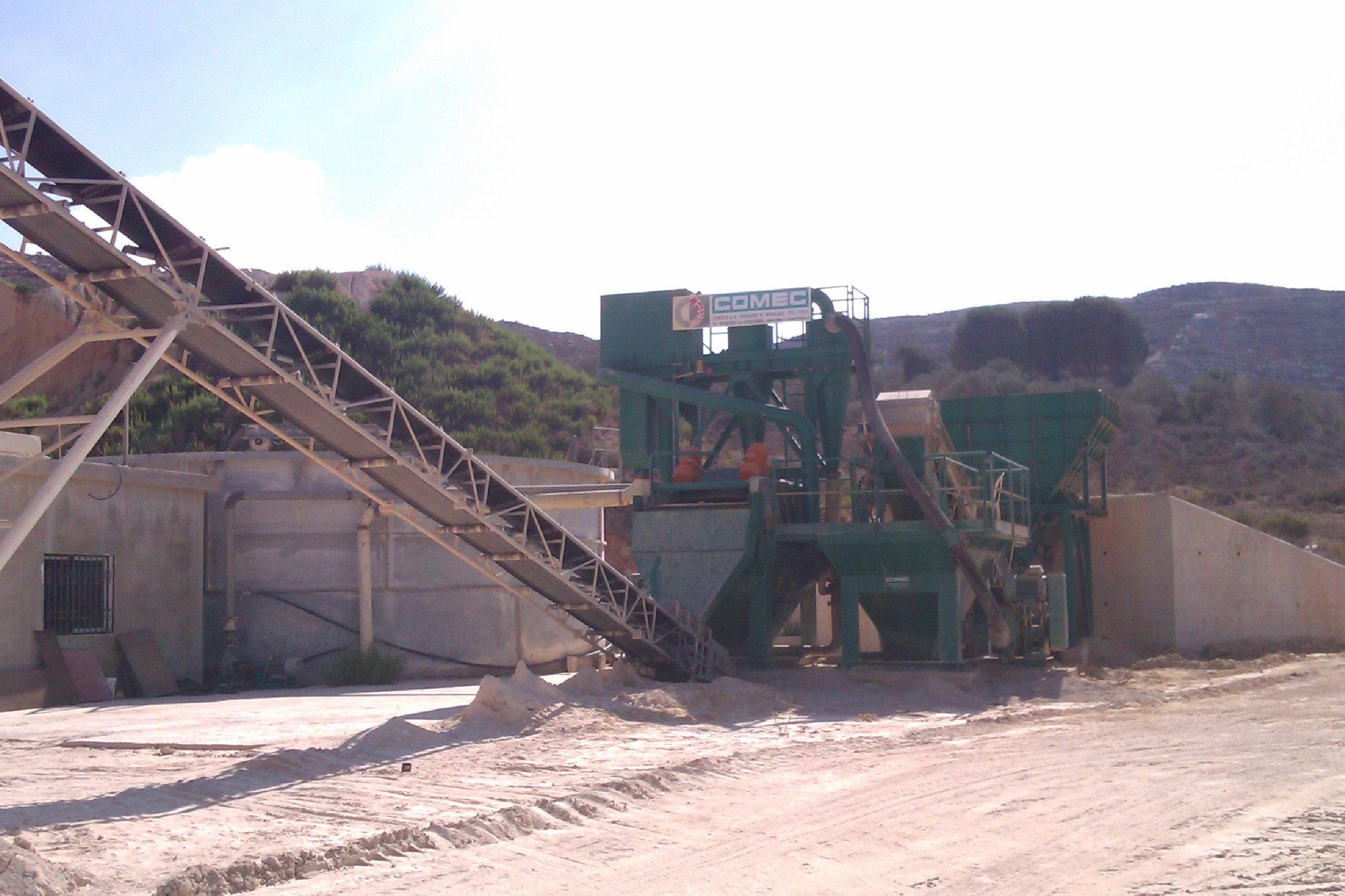 Yamen implements the latest technology in sand washing industry to provide superior sand quality for...