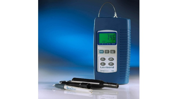 Image01: Conductimètre de poche - CCS39131-1 Code article : CCS39131-1 Plage de mesure : 0 à 19,9 mS...