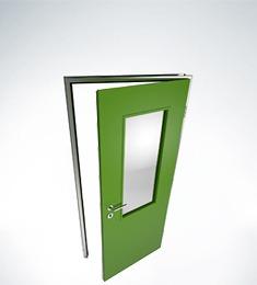 Vnitřní kovové dveře SMART - výroba Společnost